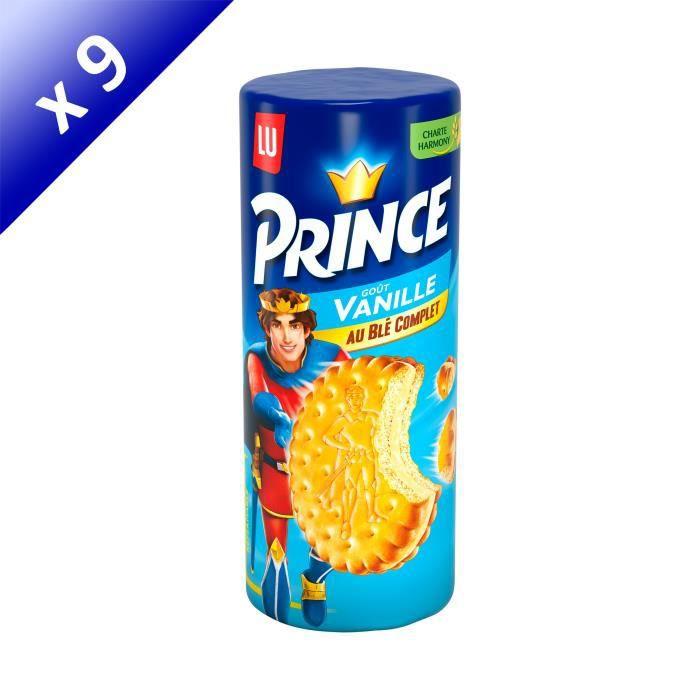 [LOT DE 9] Prince Vanille 300g