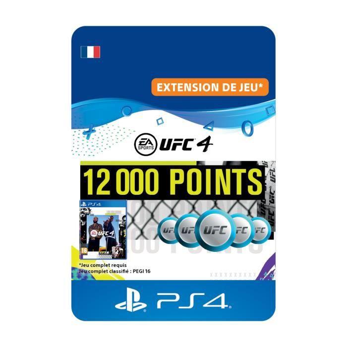 DLC 12000 Points UFC pour UFC®4 - Code de Téléchargement PS4