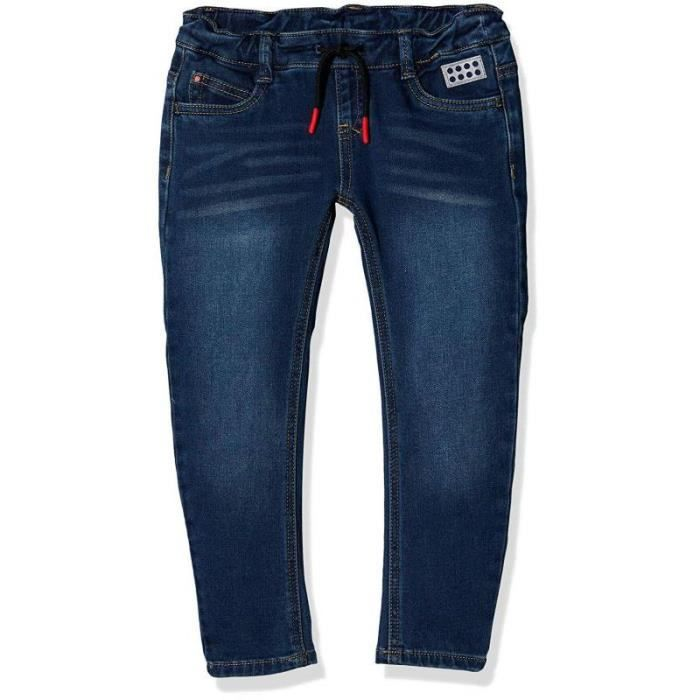 Lego Wear Duplo Girl Poppy 705, Jeans Bébé Fille, Bleu (Light Denim 32), 98 cm - 21082-32