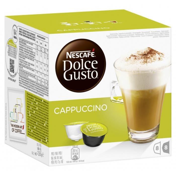 Nescafé Dolce Gusto Cappuccino 4 x 16 Capsules