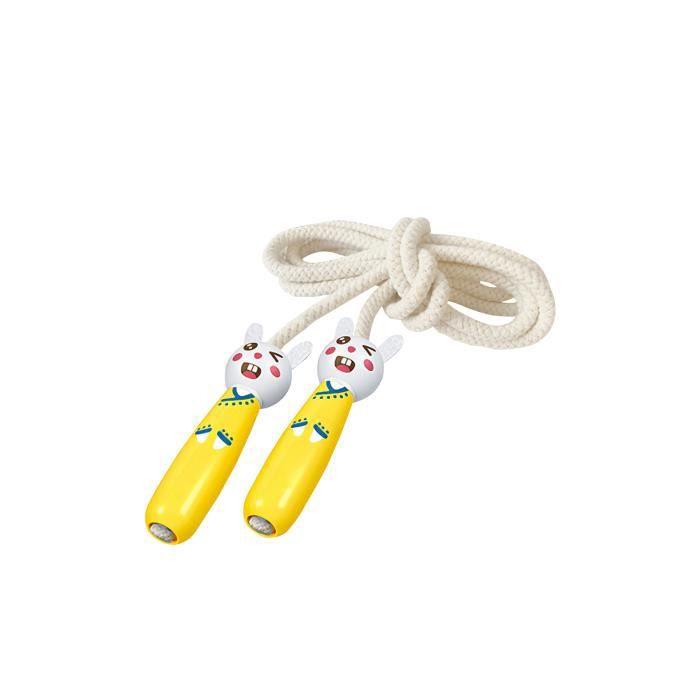Dessin animé saut à sauter des marchandises de sports de sport de la corde de sport réglable corde à saut unique