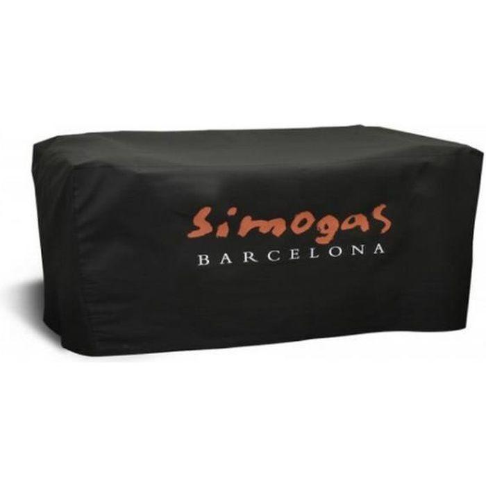 SIMOGAS Housse pour plancha Rainbow en PVC et polyester