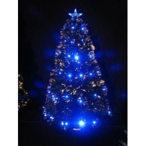 sapin de noel fibre optique led bleu 120cm achat vente sapin de no l cdiscount. Black Bedroom Furniture Sets. Home Design Ideas