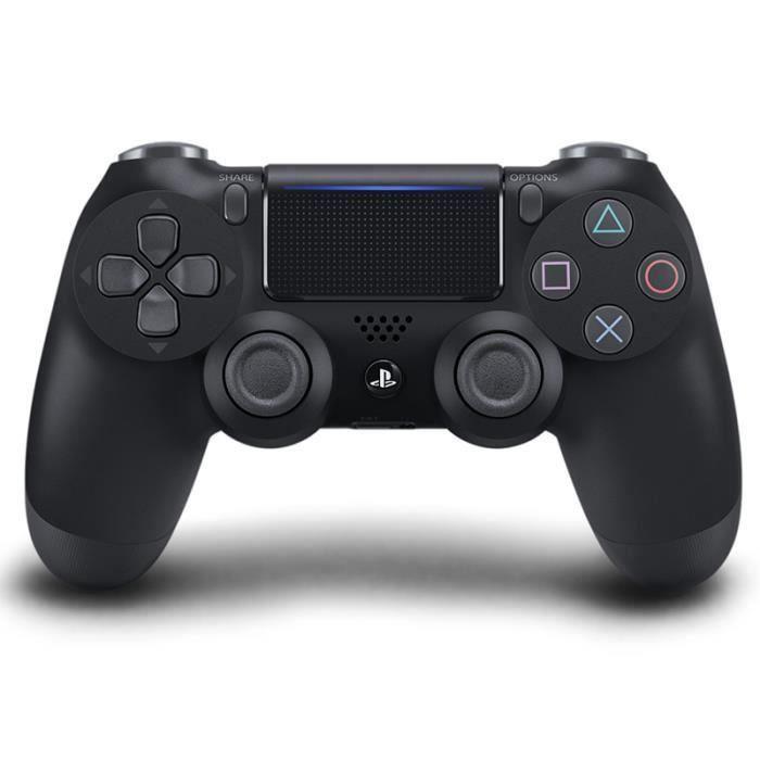 MANETTE JEUX VIDÉO Manette PS4 Sans fil DualShock 4 V2-Noire