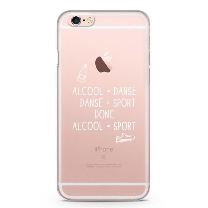 coque iphone 6 alcool