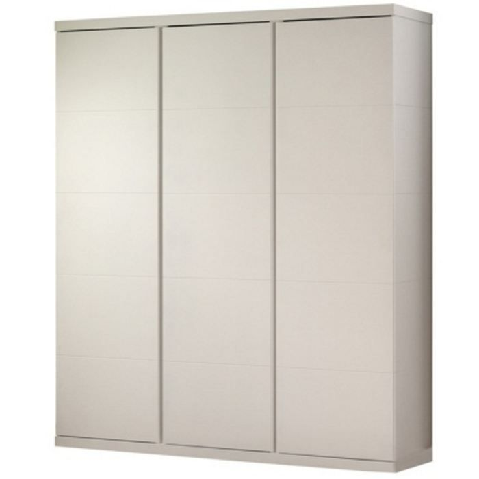armoire 3 portes swithome indiana blanche achat vente. Black Bedroom Furniture Sets. Home Design Ideas