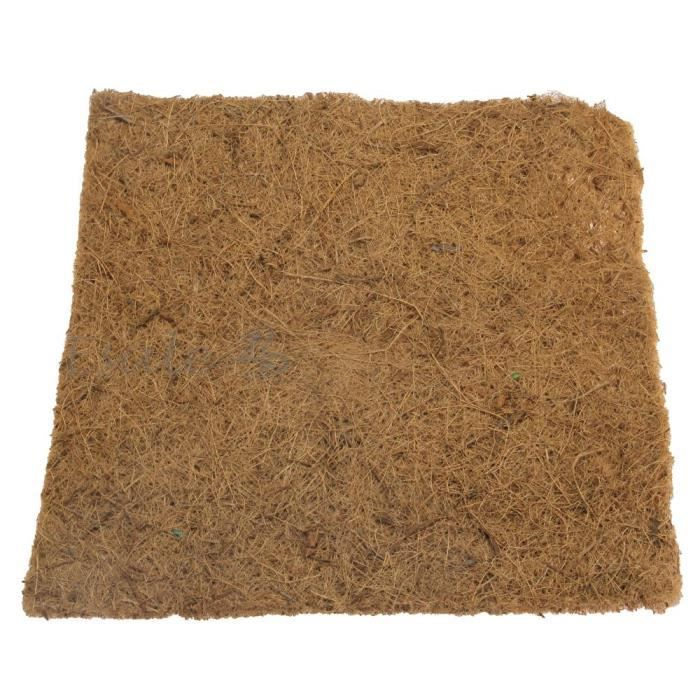 tapis carpette en fibre de coco pour reptiles serpent tortue l zard terrarium achat vente. Black Bedroom Furniture Sets. Home Design Ideas