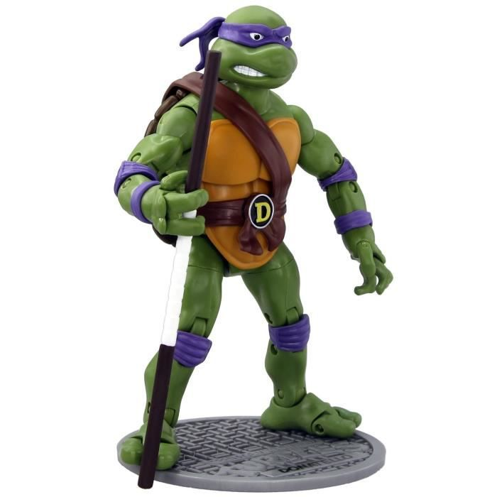 Tortues ninja donatello figurine articul e 16 cm achat vente figurine personnage cdiscount - Voiture des tortues ninja ...