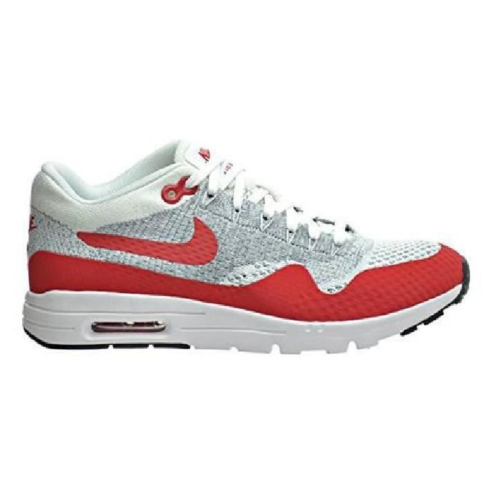 Nike Air Max 1 Ultra Flyknit Homme Rouge Gris Rouge Gris ...