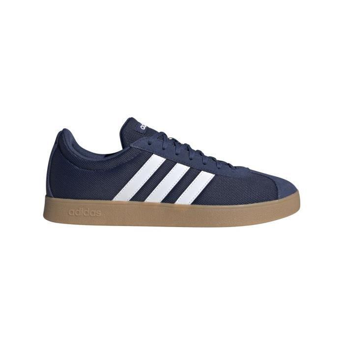 Baskets Adidas VL Court 44 Bleu - Cdiscount Chaussures