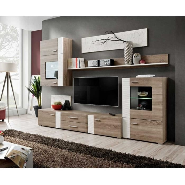 meubles tv modulables maison design. Black Bedroom Furniture Sets. Home Design Ideas