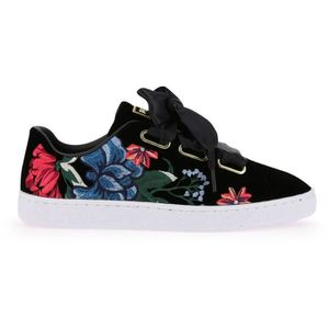 femme mode baskets puma heart suede 366116 4wYfz8
