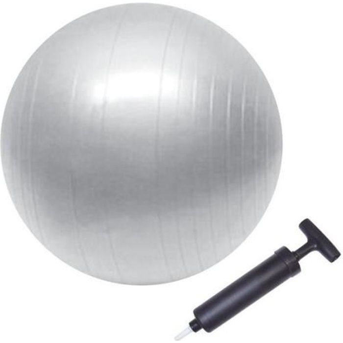 BODY ONE - Ballon de gym taille : 75cm - avec pompe
