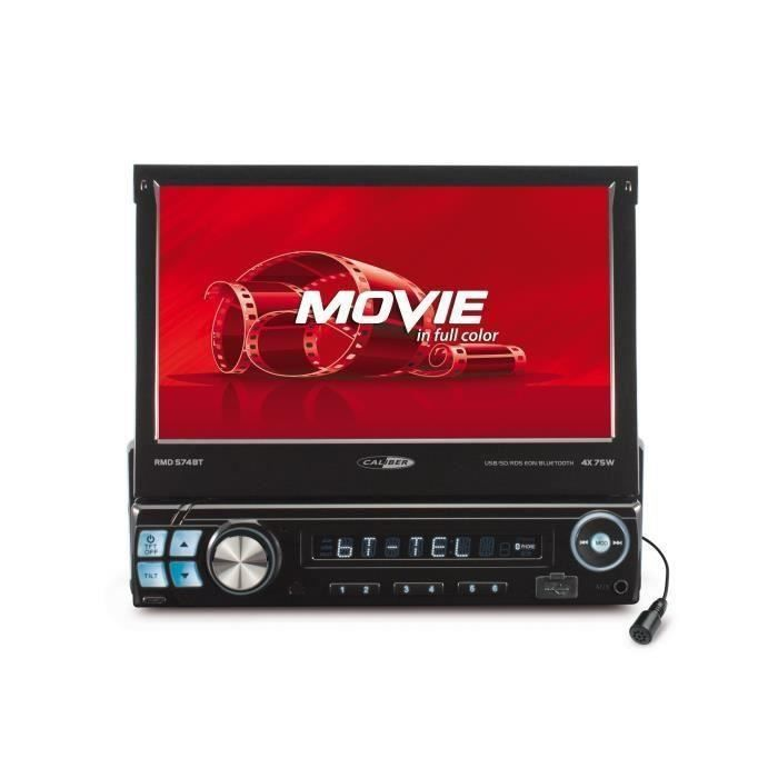 "CALIBER RMD574BT Autoradio écran tactile 7"" USB SD"