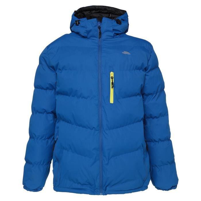 TRESPASS Veste doudoune de Ski Blustery Homme Bleu
