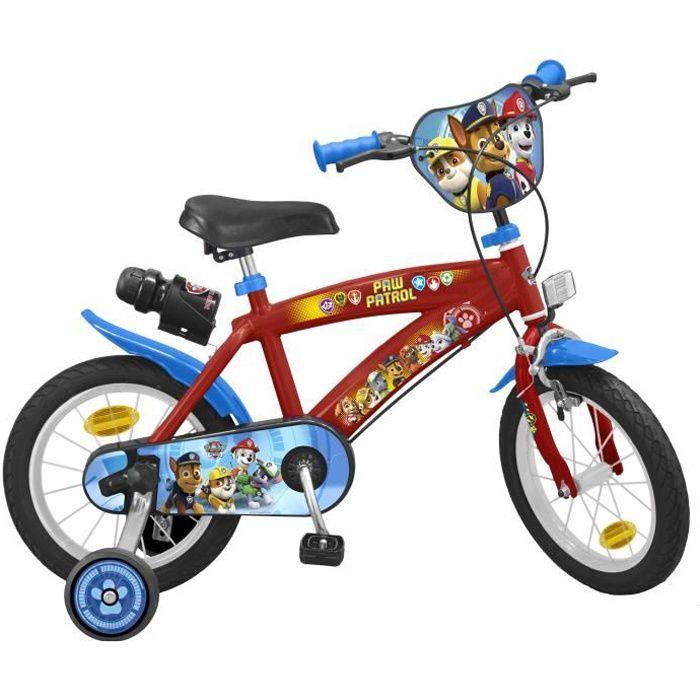 PAT'PATROUILLE Vélo Enfant garçon - 14- - 4/7 ans rouge