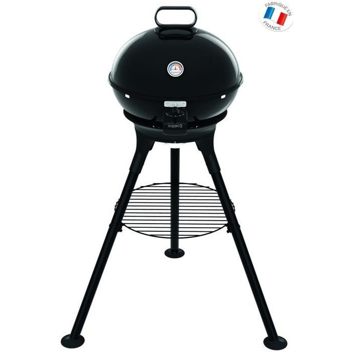 TEFAL YY2944FB - Barbecue Aromati'Q pieds + grille fonte + accessoires