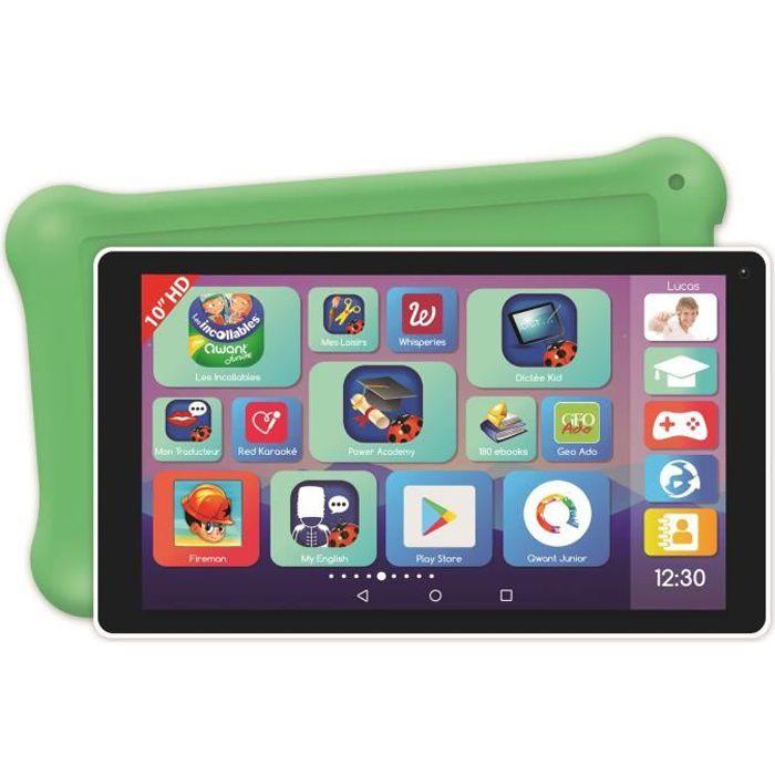 LEXIBOOK LexiTab® Deluxe Tablette enfant 10- avec contenu éducatif et ludique et contrôle parental - protection incluse