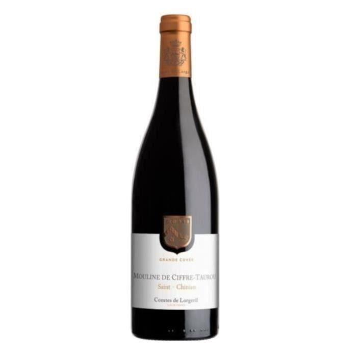 Moulin Ciffre Taurou 2017 Saint-Chinian - Vin rouge du Languedoc-Roussillon