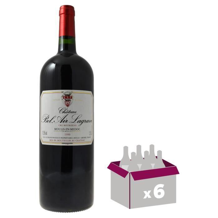 Château Bel Air Lagrave 1994- Moulis en Médoc-Vin Rouge de Bordeaux Magnum