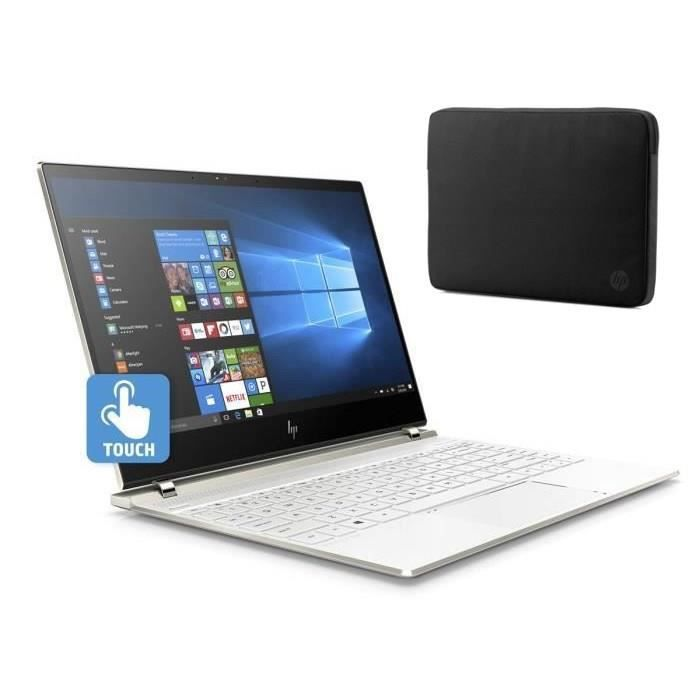 "HP PC Ultraportable Spectre- HP13af004nf - 13.3"" FHD tactile - RAM 8Go - Windows 10- Intel Core i7-8550U- Intel UHD- Stockage 256GoNETBOOK"