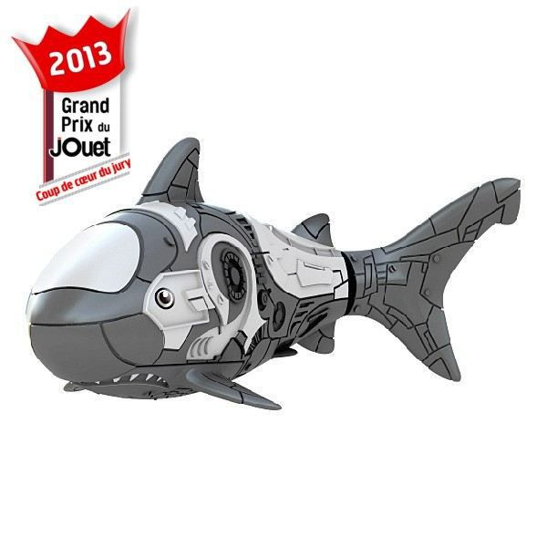 Blister Robo Fish Requin Gris