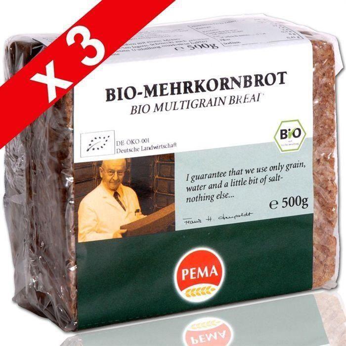 [LOT DE 3] ERIC BUR Pain Weizenkeimbrot Germe de Blé (x1)