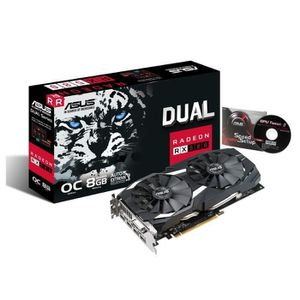 CARTE GRAPHIQUE INTERNE Asus Carte graphique AMD Radeon RX 580 - DUAL-RX58