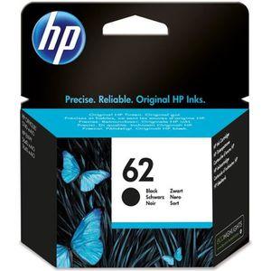 CARTOUCHE IMPRIMANTE HP 62 cartouche d'encre noire authentique pour HP