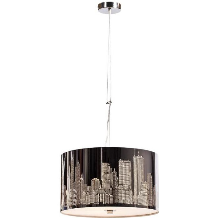 luminaire new york achat vente luminaire new york pas cher cdiscount. Black Bedroom Furniture Sets. Home Design Ideas