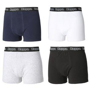 CALEÇON KAPPA Pack de 4 Boxers Homme