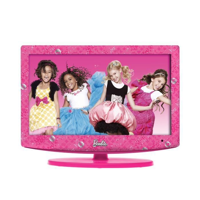 barbie tv lcd 19 lexibook achat vente t l viseur. Black Bedroom Furniture Sets. Home Design Ideas