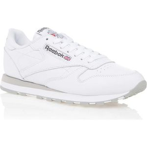 new styles eb416 37016 BASKET REEBOK Basket Homme Leather - Multisport - Blanc e ...