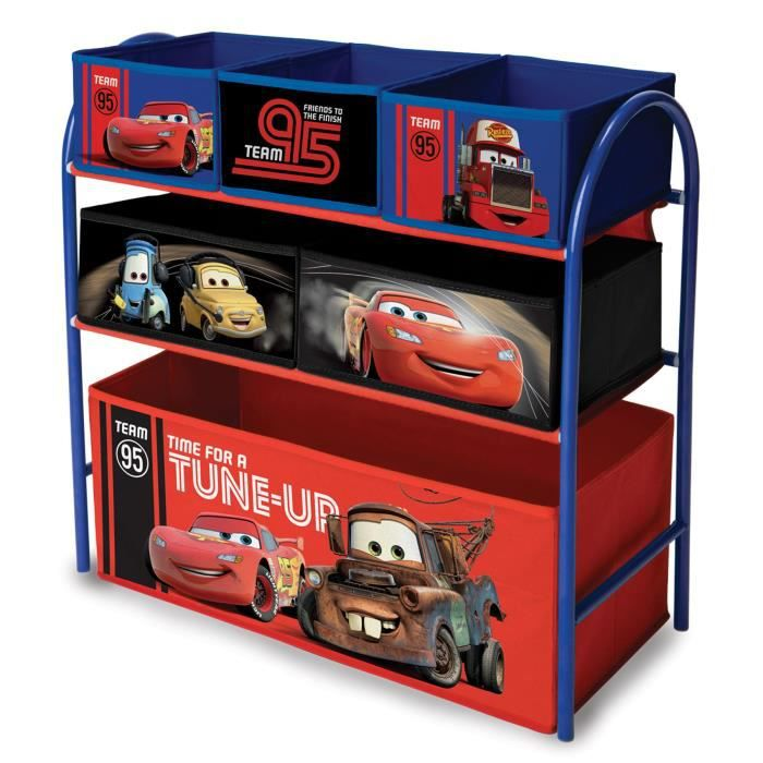 delta children cars meuble de rangement enfant jouets 6. Black Bedroom Furniture Sets. Home Design Ideas