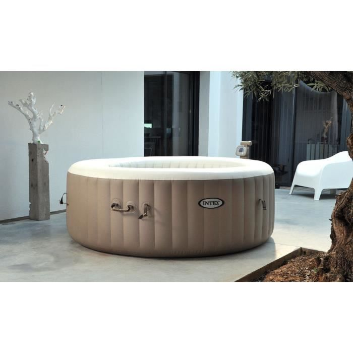 intex pure spa spa bulles rond 4 places 1 91 x 0 71 m. Black Bedroom Furniture Sets. Home Design Ideas
