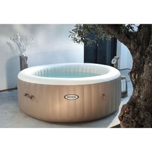 INTEX PURE SPA Spa à bulles rond 4 places 1,91 x 0,71 m