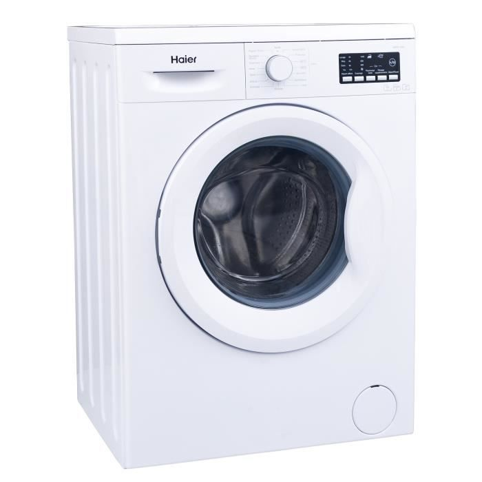 haier hw70 14f2 lave linge frontal 7 kg 1400 tours a. Black Bedroom Furniture Sets. Home Design Ideas