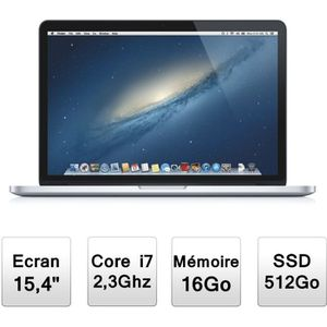 ORDINATEUR PORTABLE Apple MacBook Pro 15,4