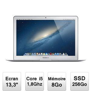"Achat PC Portable MacBook Air 13,3"" 1,8Ghz 8Go SSD 256Go pas cher"