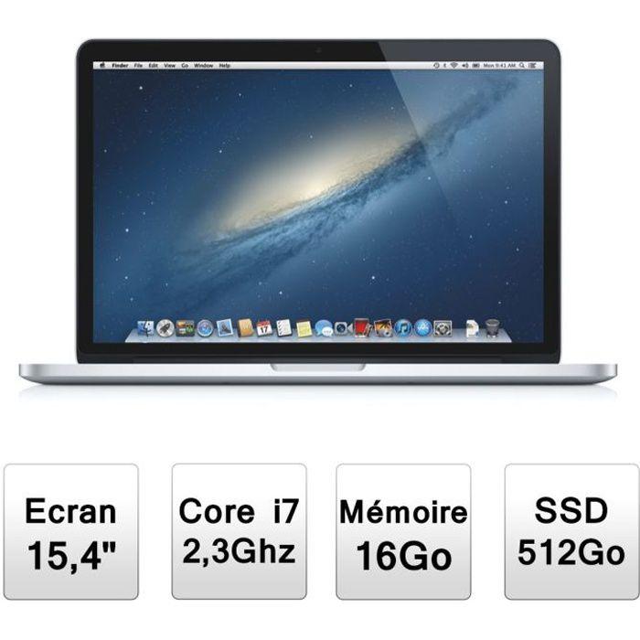 "ORDINATEUR PORTABLE Apple MacBook Pro 15,4""  ( ME294F/A )"