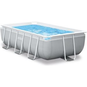 PISCINE INTEX Kit piscine rectangulaire Prism Frame - 300