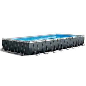 PISCINE INTEX Kit Piscine rectangulaire tubulaire Ultra XT