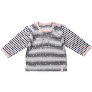 T-SHIRT DIRKJE T-shirt Manches Longues rayé  Gris et rose