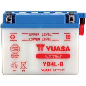 BATTERIE VÉHICULE Batterie moto Yuasa YB4LB