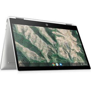 """Top achat PC Portable HP Chromebook 14b-ca0004nf - 14""""FHD - Pentium N5000 - RAM 4Go - Stockage 64Go - Chrome pas cher"""