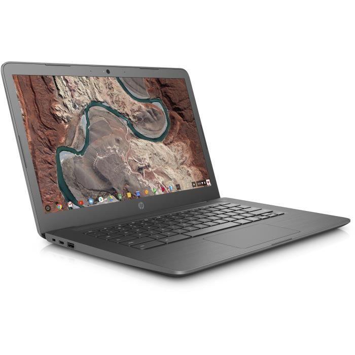 "ORDINATEUR PORTABLE HP PC Portable Chromebook 14-ca004nf - 14"" FHD IPS"