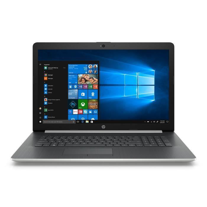 "ORDINATEUR PORTABLE HP PC Portable 17-by0134nf - 17,3""HD - Windows 10"
