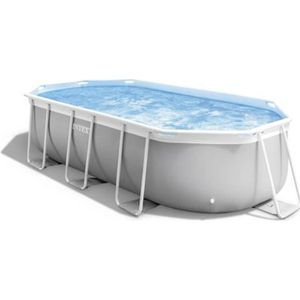 PISCINE INTEX Kit piscine Prism Frame - 400 x 200 x 100 cm
