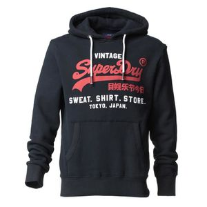 SWEATSHIRT SUPERDRY Sweat à capuche Premium Good Marine Homme