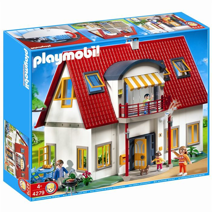Object moved for Playmobil modernes haus 9266